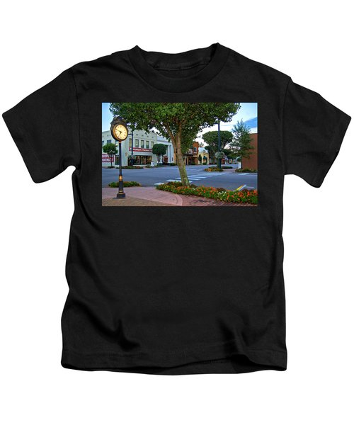 Fairhope Ave With Clock Kids T-Shirt