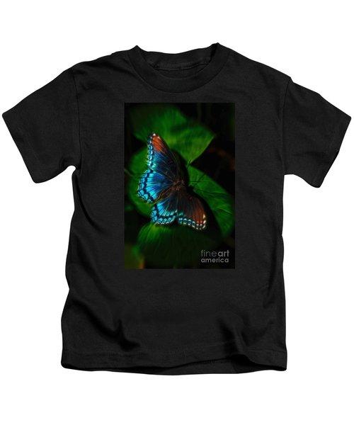 Fall Butterfly Kids T-Shirt