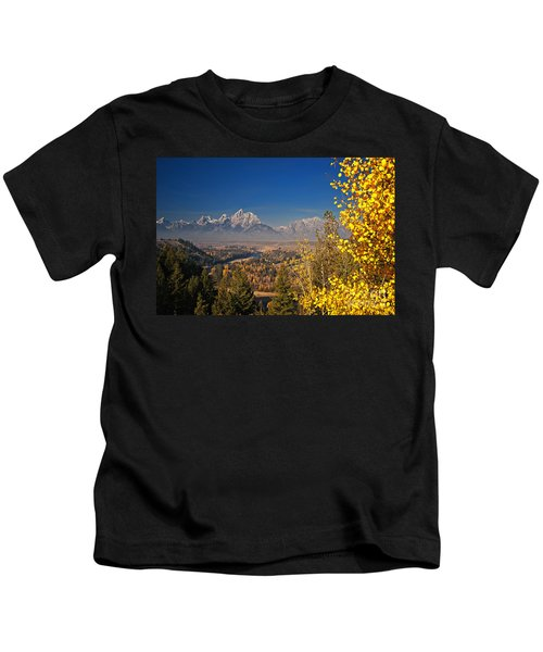 Fall Colors At The Snake River Overlook Kids T-Shirt