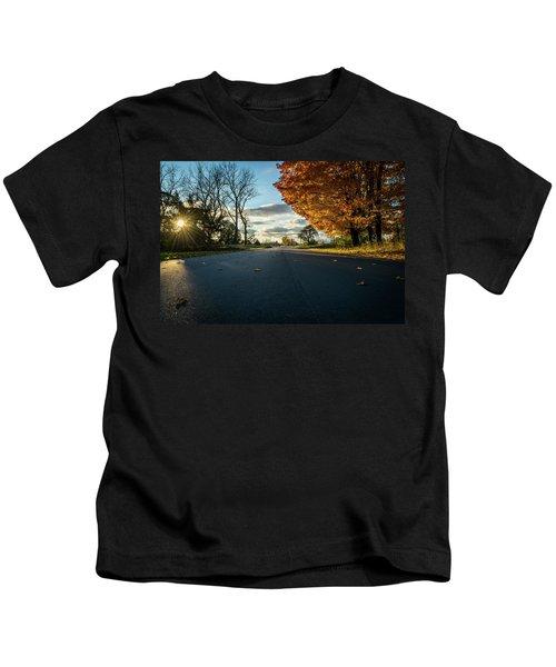 Fall Day Kids T-Shirt