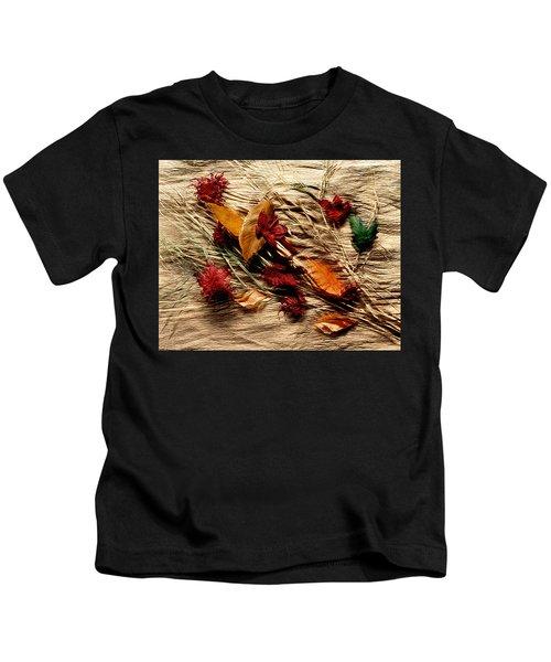 Fall Foliage Still Life Kids T-Shirt
