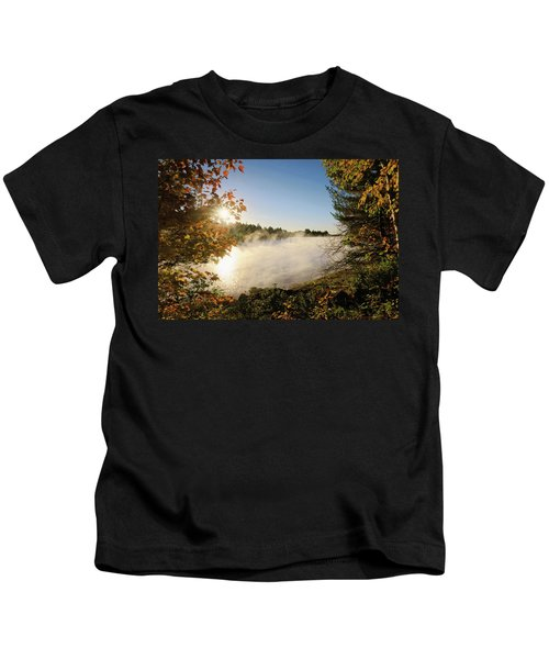 Fall In New England Kids T-Shirt