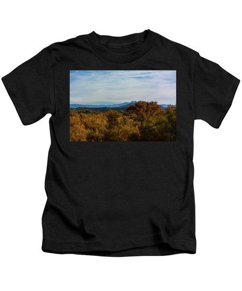 Fall In The Desert Kids T-Shirt