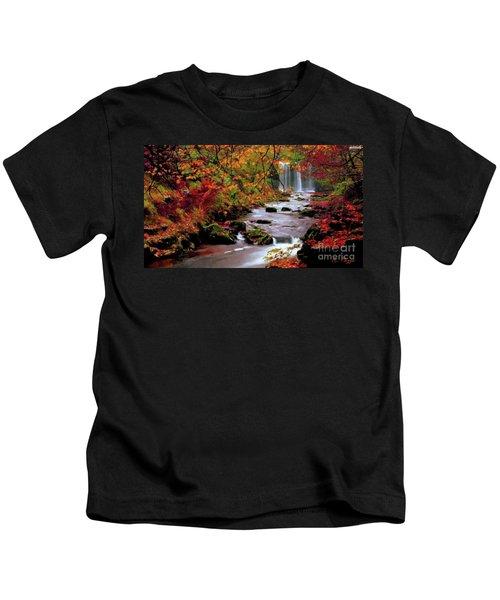 Fall It's Here Kids T-Shirt