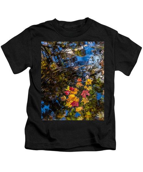 Fall Reflection - Pisgah National Forest Kids T-Shirt