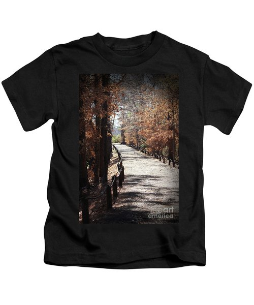Fall Wonder Land Kids T-Shirt