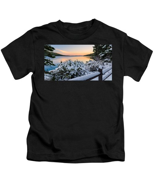 Fallen Leaf Lake Kids T-Shirt