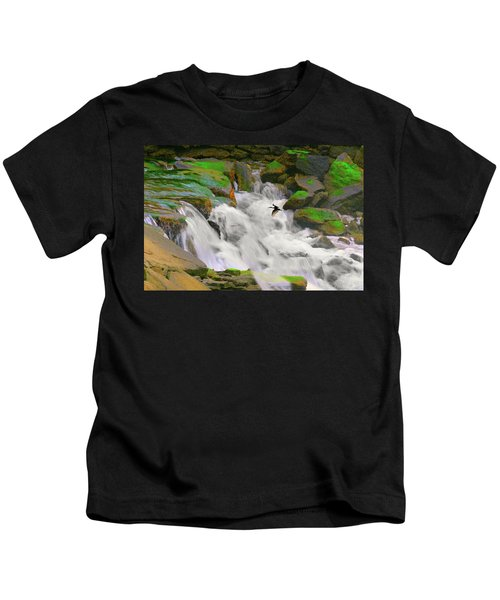 Falling Over Kids T-Shirt
