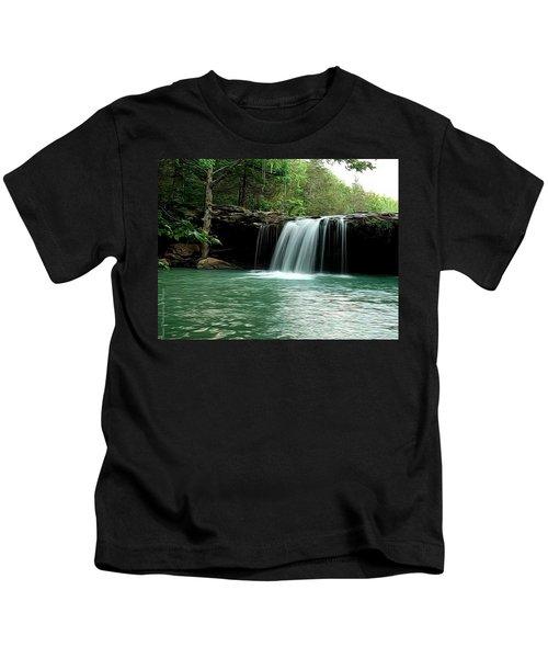 Falling Water Falls Kids T-Shirt
