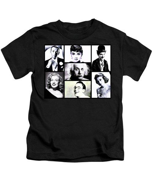 Famous Faces Kids T-Shirt