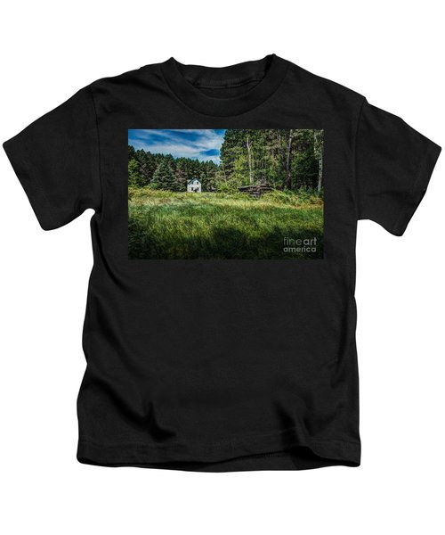 Farm In The Woods Kids T-Shirt