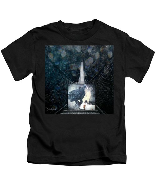 Fear Of Stairs Kids T-Shirt