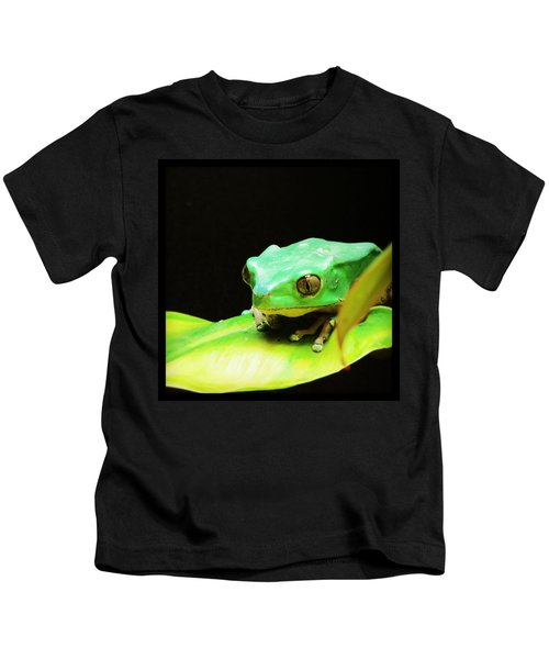 Feeling Froggy Kids T-Shirt