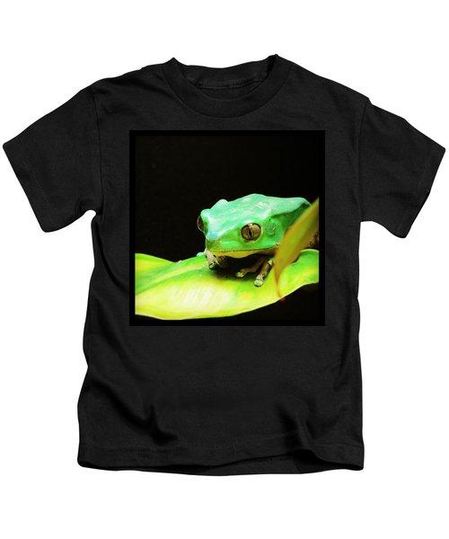 Feeling Froggy Kids T-Shirt