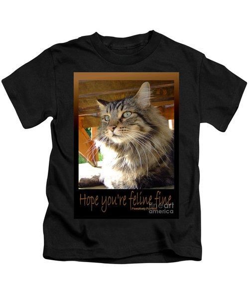 Feline Fine Kids T-Shirt