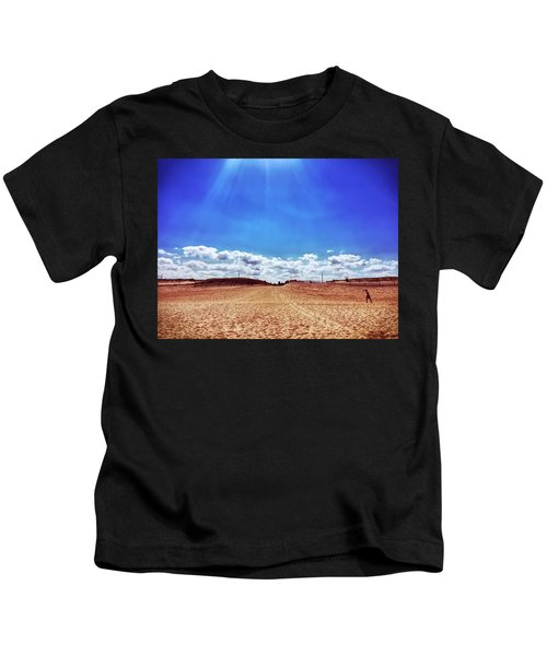Kids T-Shirt featuring the photograph Fenwick Island State Park by Chris Montcalmo
