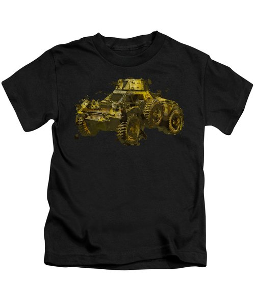 Ferret Scout Car Kids T-Shirt