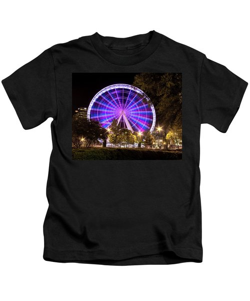 Ferris Wheel At Centennial Park 1 Kids T-Shirt