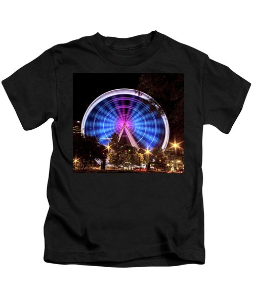Ferris Wheel At Centennial Park 2 Kids T-Shirt