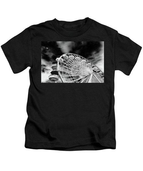 Ferris Wheel Santa Monica Pier Kids T-Shirt
