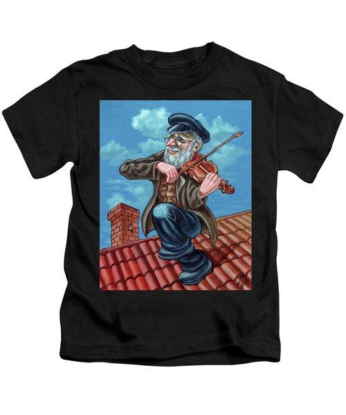 Fiddler On The Roof. Op2608 Kids T-Shirt