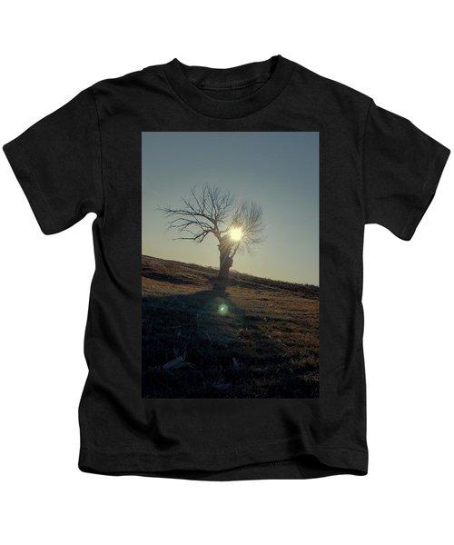 Field And Tree Kids T-Shirt
