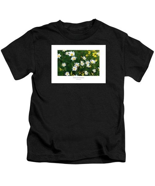 Field Of Daisies Kids T-Shirt