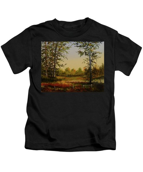 Fields And Trees Kids T-Shirt