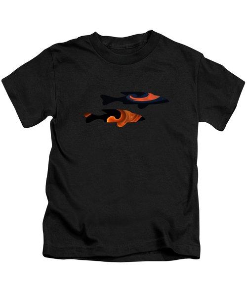 Fiery Duo Kids T-Shirt
