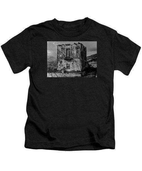 Fine Art Back And White234 Kids T-Shirt