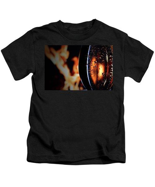 Fire And Rain Kids T-Shirt