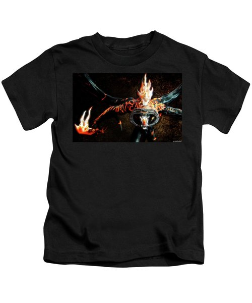 Fire Balrog Kids T-Shirt