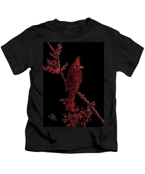 Fire Cardinal Kids T-Shirt