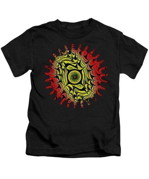 Fire Dragon Eye Kids T-Shirt