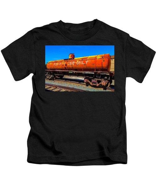 Fire Fighting Tanker Kids T-Shirt