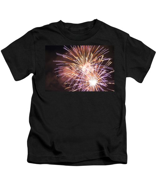 Fireworks In The Park 3 Kids T-Shirt