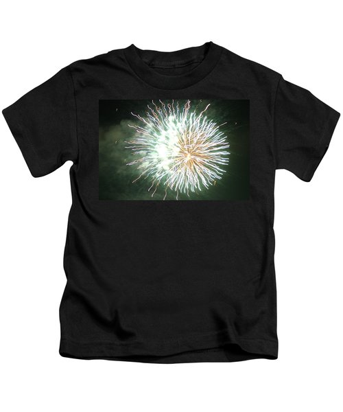 Fireworks In The Park 4 Kids T-Shirt