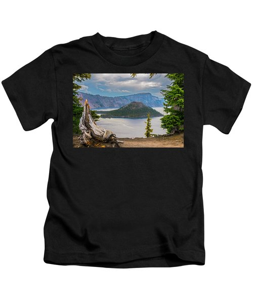 First Crater View Kids T-Shirt