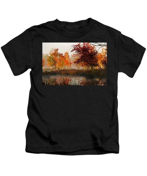 First Light At The Pine Barrens Kids T-Shirt