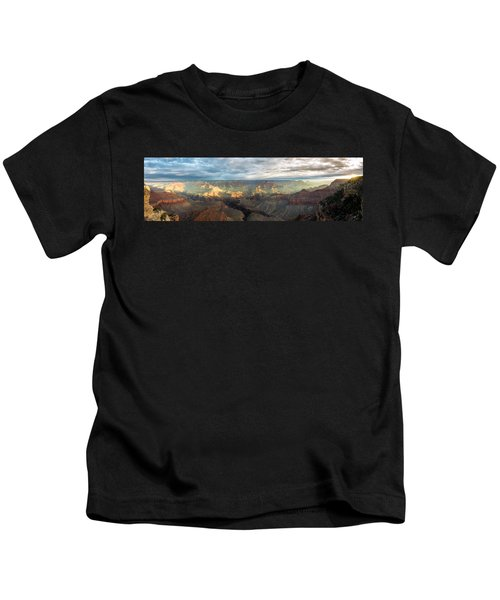 First Light In The Canyon Kids T-Shirt