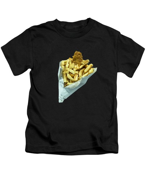 Fish N Chippies  Kids T-Shirt