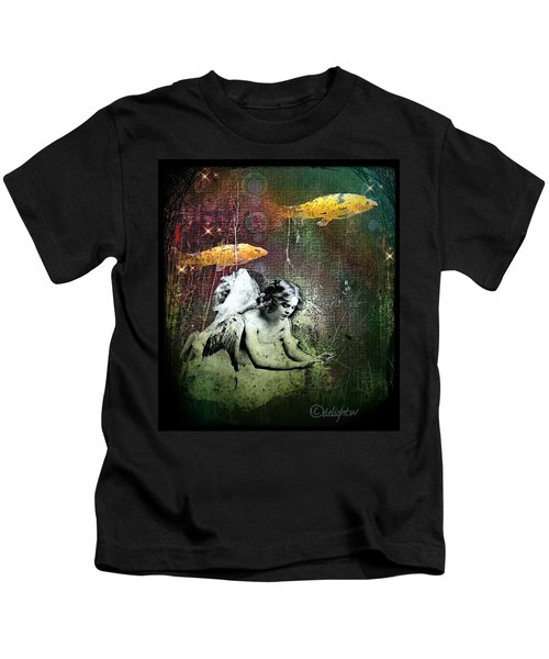 Fishes Wings Kids T-Shirt