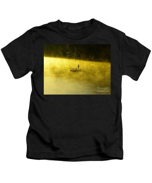 Fishing The Prettyboy Reservoir Kids T-Shirt
