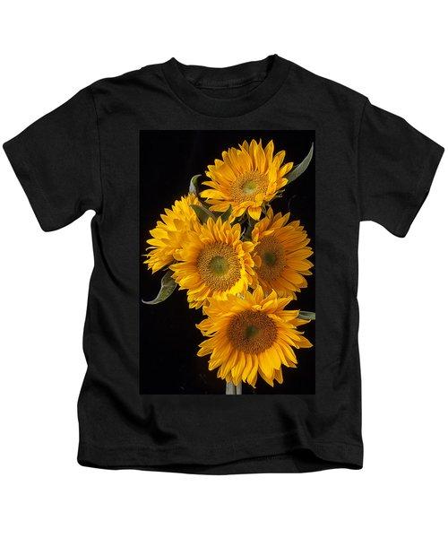 Five Sunflowers Kids T-Shirt