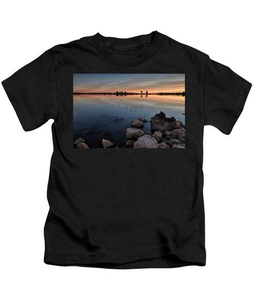 Flagstaff At Dawn Kids T-Shirt