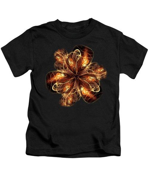 Flame Flower Kids T-Shirt