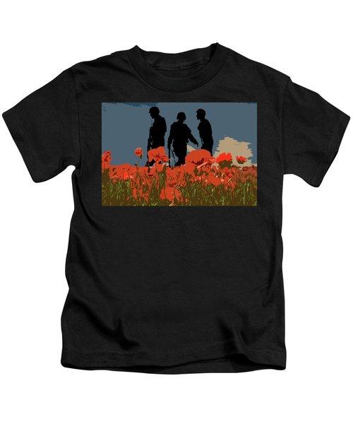 Flanders Fields 5 Kids T-Shirt