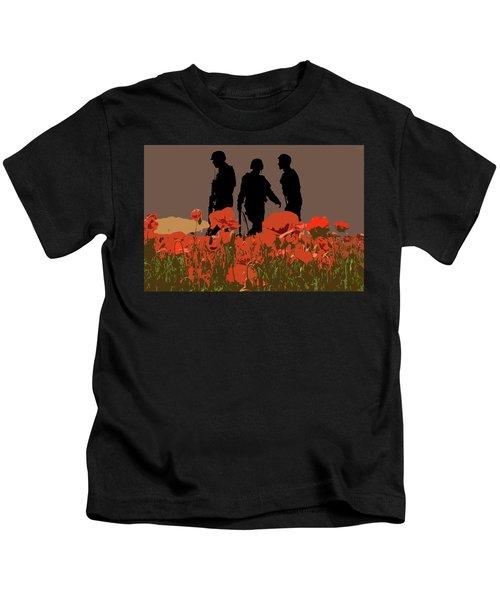 Flanders Fields 7 Kids T-Shirt