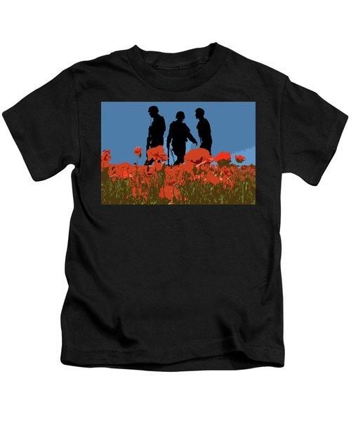 Flanders Fields 8 Kids T-Shirt