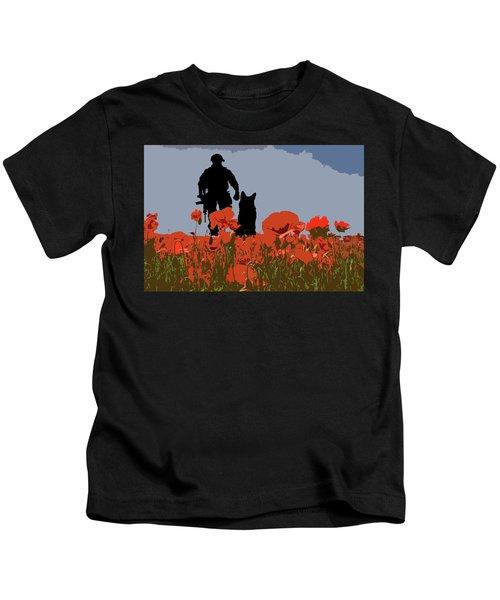Flanders Fields 9 Kids T-Shirt